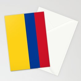 Flag of Colombia-Colombian,Bogota,Medellin,Marquez,america,south america,tropical,latine america Stationery Cards