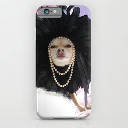 Chihuahua Vogue  iPhone Case
