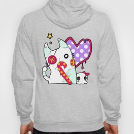 Ghost cat (color) Hoody