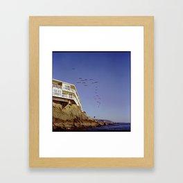 Flok Framed Art Print