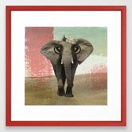 king baba Framed Art Print