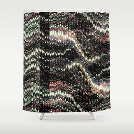 Woven Shower Curtain
