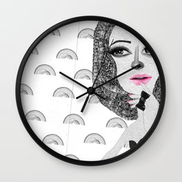 Confessions of a shopaholic  Wall Clock