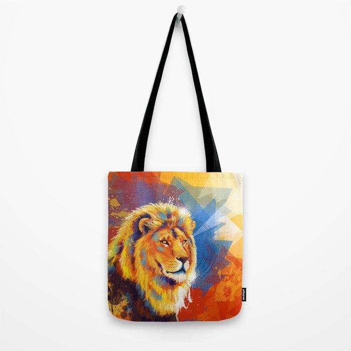 Majesty - Lion portrait Tote Bag
