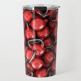 Kettlebells RED Travel Mug