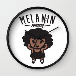 Melanin Powered Wall Clock