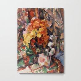 The Flowered Vase Metal Print