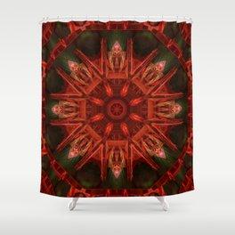 Mandala Inka Shower Curtain