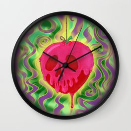 One Bite (No Text) Wall Clock
