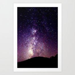 Purple-ish Art Print