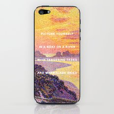 Sunset in the Sky with Diamonds iPhone & iPod Skin