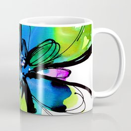 Ecstasy Bloom No.17k by Kathy Morton Stanion Coffee Mug