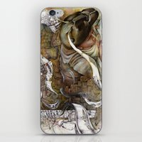 shopping iPhone & iPod Skins featuring Ants/Shopping  by Andreas Derebucha