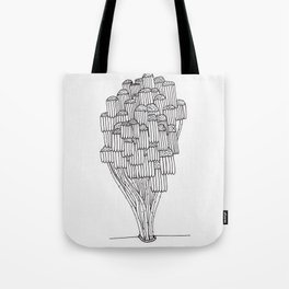 The Wilted Daisies Tote Bag