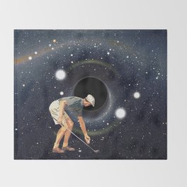 Black Hole in One Throw Blanket