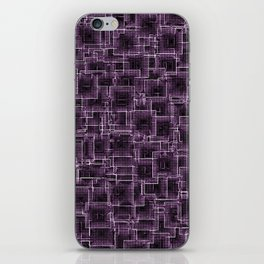The Maze - Lilac iPhone Skin