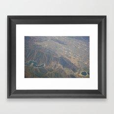 GEOgraphy X Framed Art Print