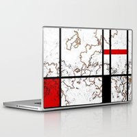 maps Laptop & iPad Skins featuring MIX MAPS by MehrFarbeimLeben
