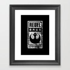 Rebel Base Framed Art Print
