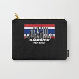 Bangkok Thailand Pak Kret Skyline Flag Carry-All Pouch