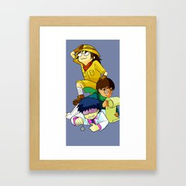 Asignatures Framed Art Print