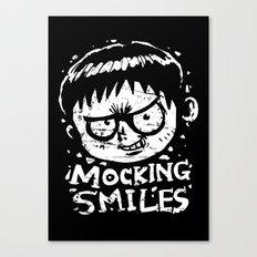 Mocking Smiles Canvas Print
