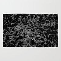 prague Area & Throw Rugs featuring Prague by Line Line Lines