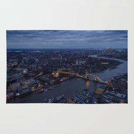 Brige Tower In London Rug