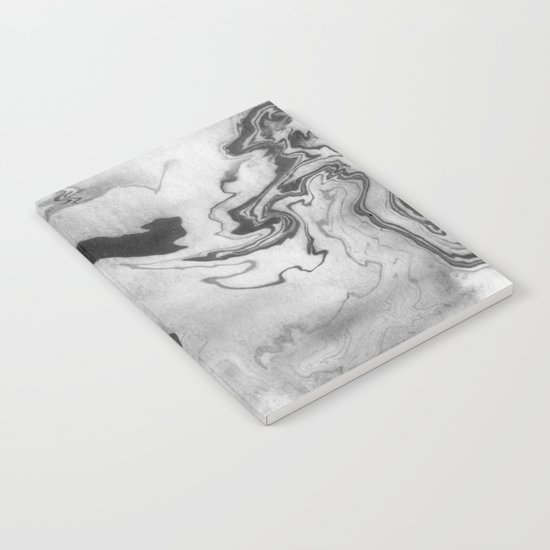 Hiroto - ink japanese marble paper free monoprint pattern marbled cell phone case india ink painting Notebook