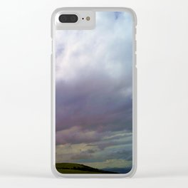 Beyond the Blue Clear iPhone Case