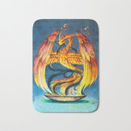 Phoenix from the Ashes Bath Mat