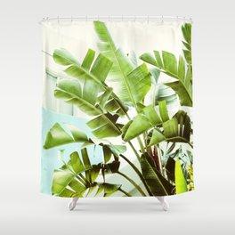 Banana Palms Shower Curtain