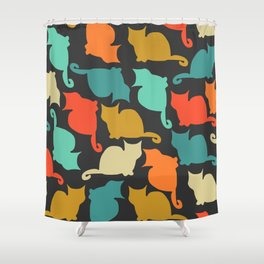Cats and kittens Shower Curtain