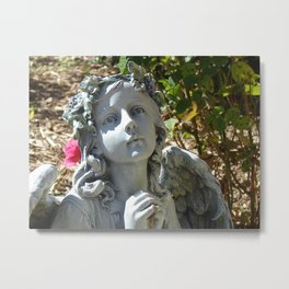 May The Angels Be With You Metal Print