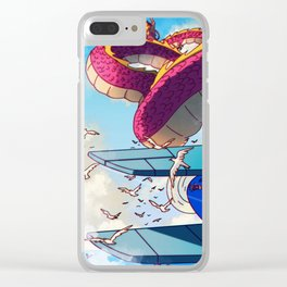Dragon Sighting Clear iPhone Case