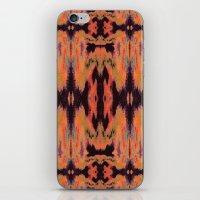 kilim iPhone & iPod Skins featuring Azra Kilim by Nina May Designs