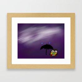 Cheeseburger Chump Framed Art Print