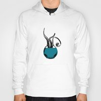 squid Hoodies featuring Squid by Inept