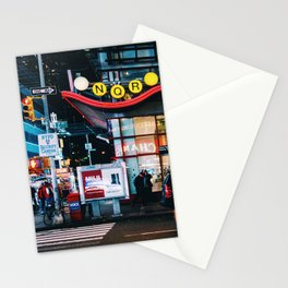 Subway, Times Square, Manhattan, NYC Stationery Cards