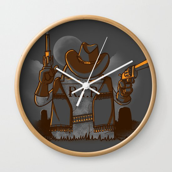 Tombstoned Wall Clock