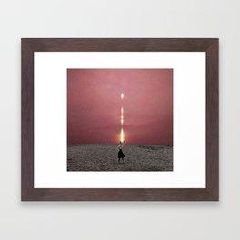 Commander Framed Art Print