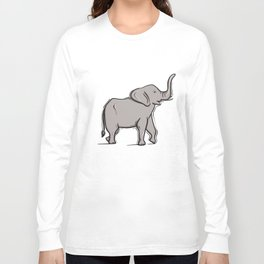 Baby Elephant Long Sleeve T-shirt