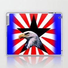 american flag and the Bald eagle Laptop & iPad Skin