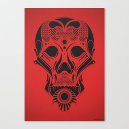 SkullHead 01 Canvas Print