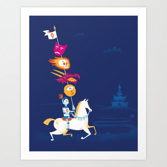 Lancelot Art Print