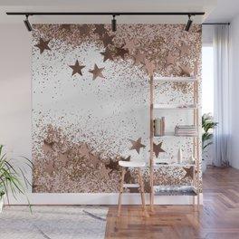 SHAKY STARS ROSEGOLD Wall Mural