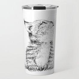 Cute Kitty Travel Mug
