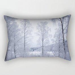 Norwegian Winter Rectangular Pillow