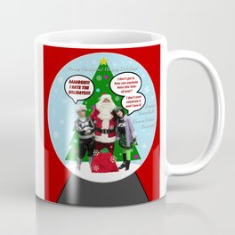 Danny Phantom snowglobe Christmas card Coffee Mug