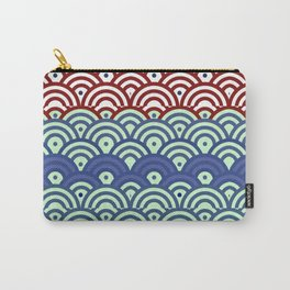 Art Deco Seigaiha 2 Carry-All Pouch